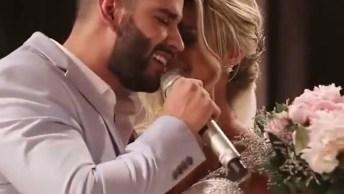 Gustavo Lima Canta Música 60 Segundos Para Sua Noiva Entrar Na Igreja!