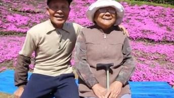 Marido Planta Muitas Flores No Jardim, E O Motivo Vai Te Emocionar!