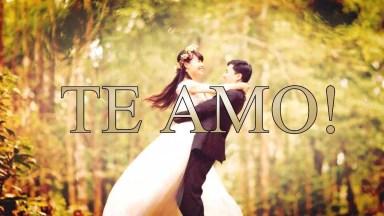 Mensagem Amor Romântica. O Amor É Saber Enfrentar A Vida Juntos!