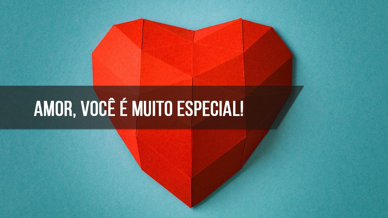 Mensagem de amor especial!