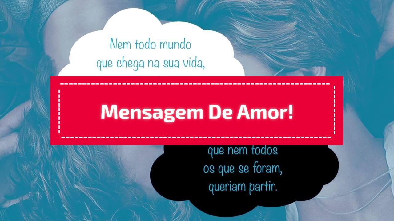 Mensagem de Amor!