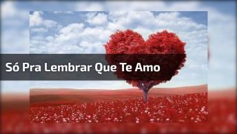 Mensagem De Amor Para Namorada! Só Passando Para Lembra-La O Quanto Te Amo!