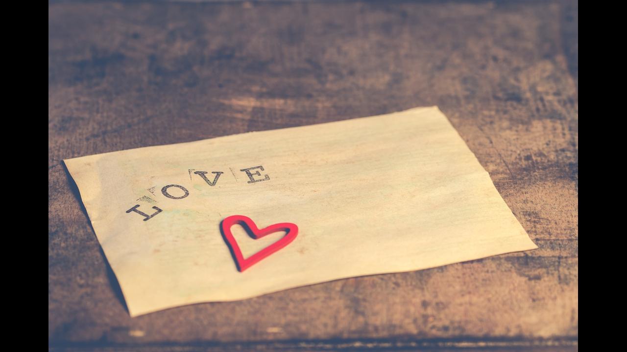 Mensagem de amor, pois este amor é tudo, essencial para aquilo que sou!