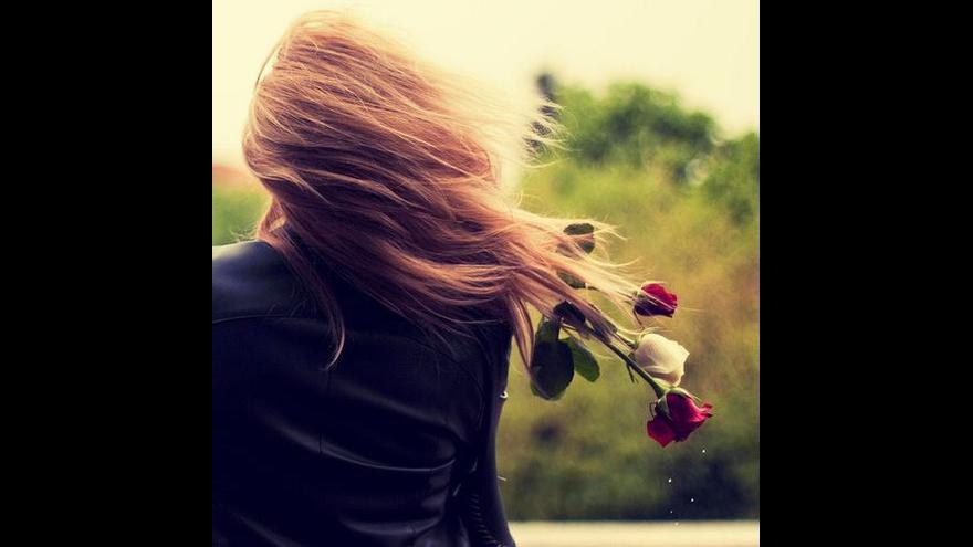 Mensagem de amor, Quando olhei para você hoje