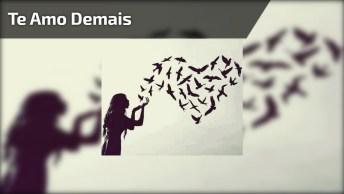 Mensagem De Amor Te Amo Demais, Para Enviar A Pessoa Amada Do Whatsapp!