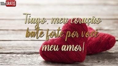 Mensagem Para Tiago, Envie No Dia Dos Namorados Para Seu Amor!