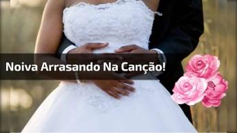 Noiva Canta Música 'I Have Nothing' De Whitney Houston Para Seu Noivo!