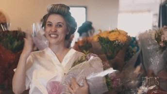 Noivo Faz Surpresa Para Sua Noiva No Dia Do Casamento, Emocionante!