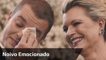 Noivo Se Emociona Com Entrada De Sua Noiva, Muito Amor Envolvido!