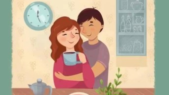 O Amor É. . . Estar Sempre Presente De Corpo E De Alma, Amar Sem Limites!