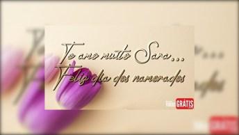 Sara, Feliz Dia Dos Namorados Com Amor - Te Amo Muito, Sara!
