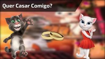 Uma Maneira Fofa De Pedir Em Casamento! O Que Acham Da Ideia!