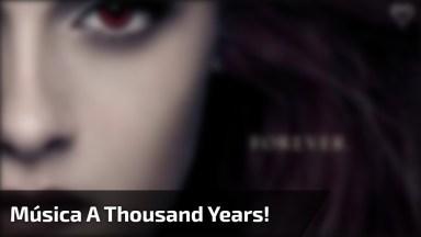 Video Do Crepúsculo Com Edward E Bella E Tradução Da Música A Thousand Years!