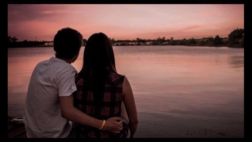 A saudade chega junto com a noite, boa noite amor