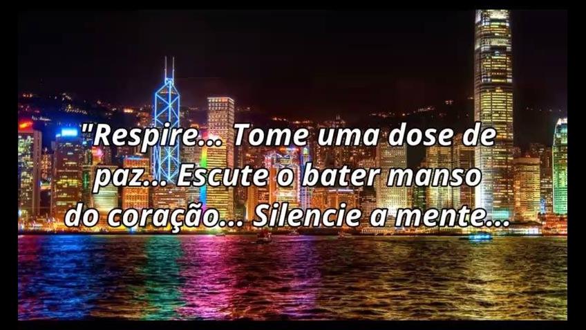 Aproveite a noite para silenciar a alma!