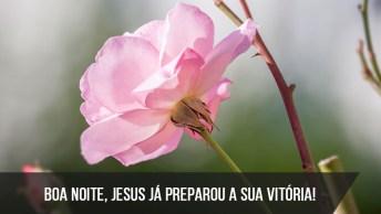 Boa Noite, Jesus Já Preparou A Sua Vitória!