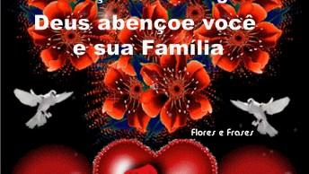 Boa Noite Para Facebook, Deus Abençoe Você E Toda Sua Família!