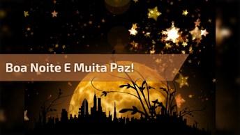 Boa Noite. . . Que Deus Abençoe Sua Noite, Trazendo Muita Paz E Serenidade!