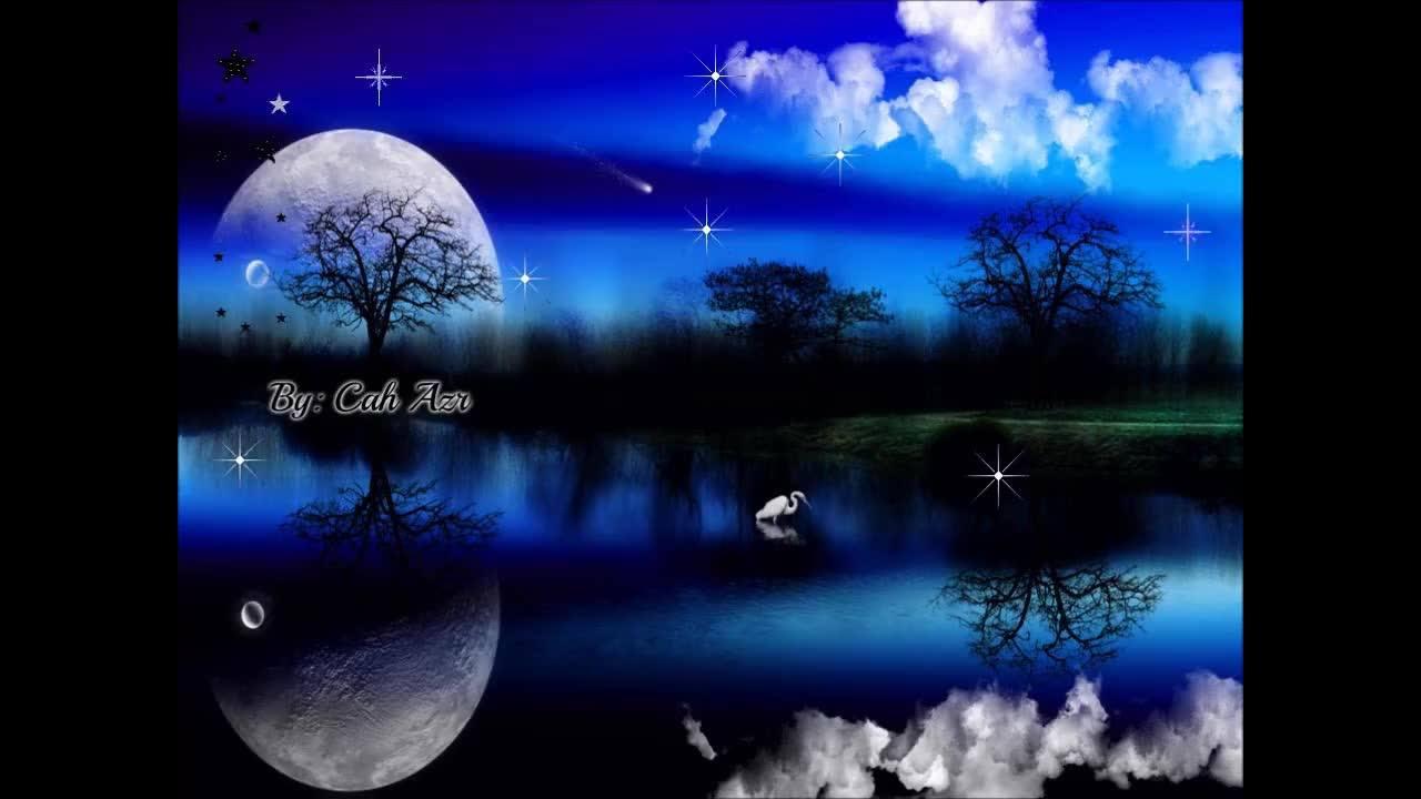 Desejo a você uma noite prospera e cheia de paz