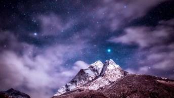 Seja Luz Na Escuridão, Como As Estrelas Brilham No Céu!