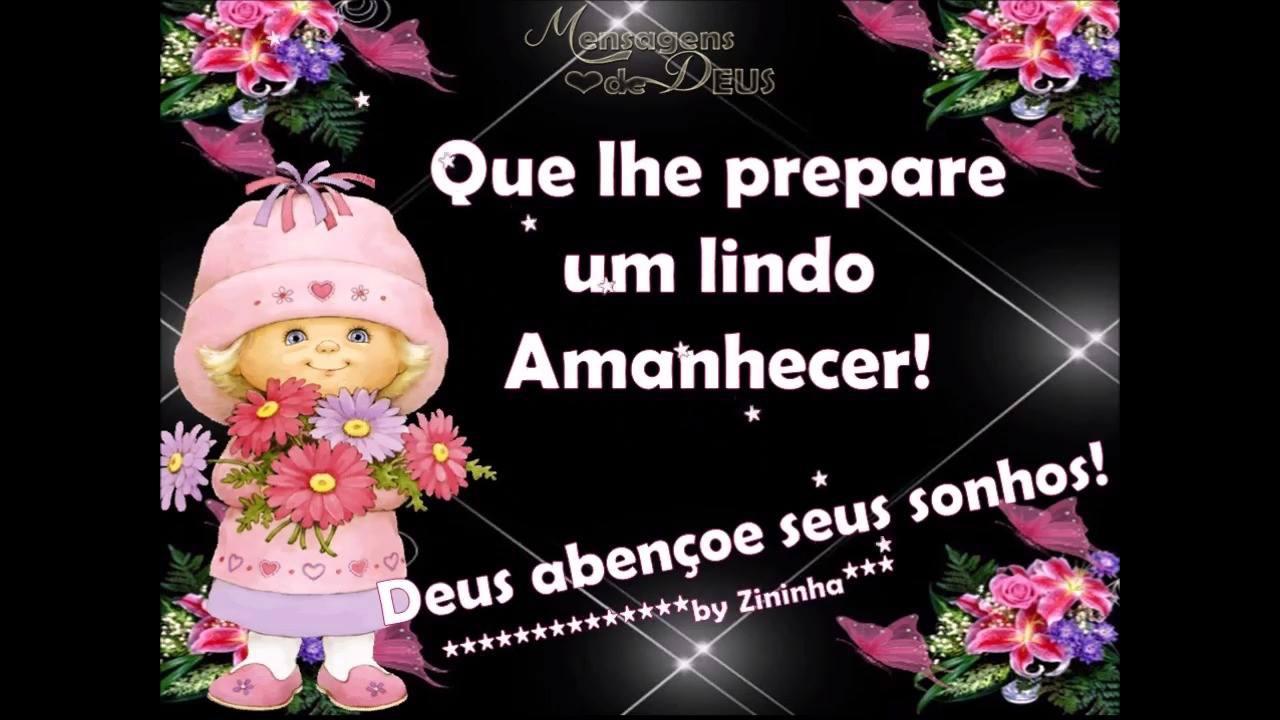 Mensagem de Boa Noite para amiga! Deus abençoe seus sonhos!!