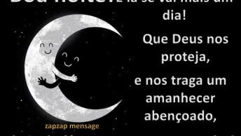 Mensagem De Boa Noite Para Amigos! Boa Noite, Que Deus Nos Proteja!