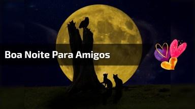 Mensagem De Boa Noite Para Amigos Do Whatsapp! Boa Noite Para Todos!
