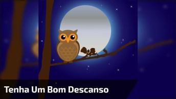 Mensagem De Boa Noite Para Amigos Do Whatsapp! Tenha Todos Um Bom Descanso!