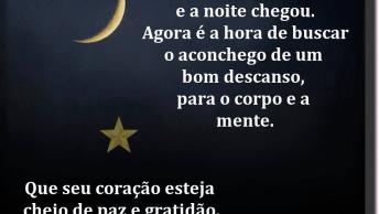 Mensagem De Boa Noite Simples E Curta, Para Facebook!