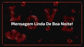 Mensagem Linda De Boa Noite, Ao Som Da Música 'Tudo É Do Pai'!