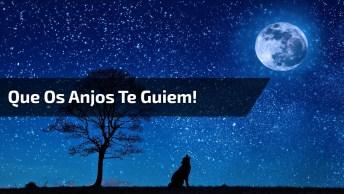 Que Os Anjos Te Guiem Até O Amanhecer, Boa Noite!