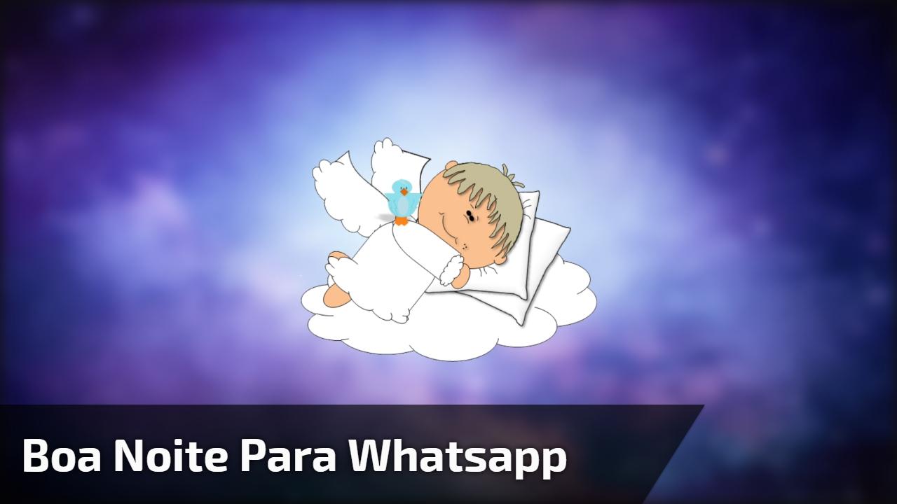 Boa noite para Whatsapp