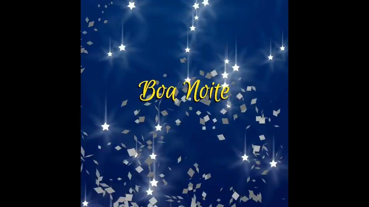 Vídeo com mensagem de Boa Noite para compartilhar com amigos e amigas