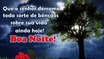Desejo Chuva De Benção Em Sua Vida, Boa Noite!