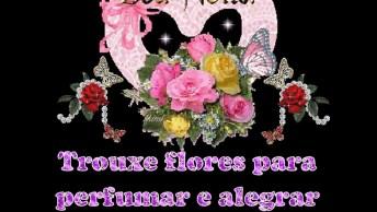 Boa Noite, Trouxe Flores Para Perfumar Sua Vida!