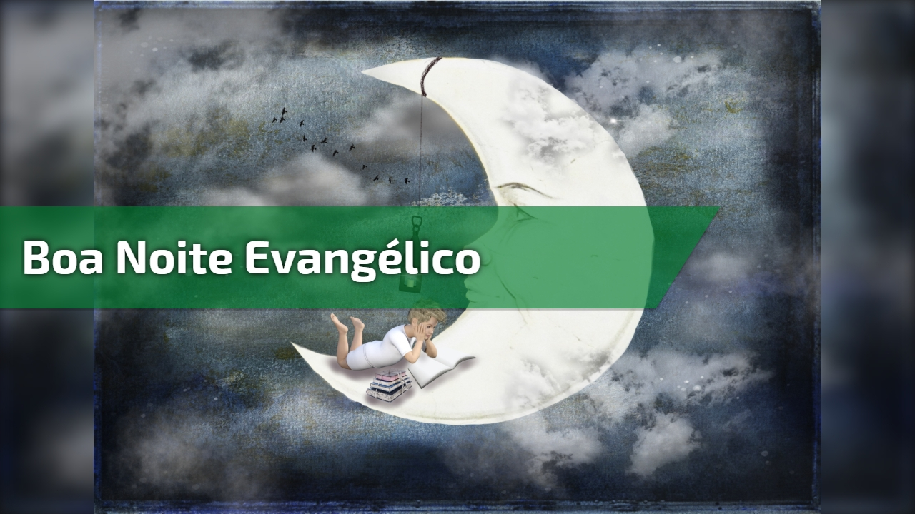 Boa noite evangélico