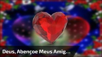 Vídeo De Mensagem De Boa Noite Para Amigos! Deus Te Abençoe!