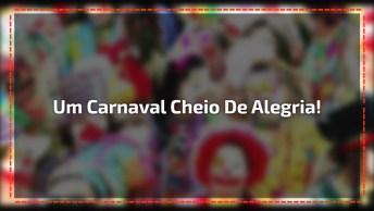 Boa Tarde A Todos, Que Curtem Carnaval Cheio De Alegria!