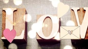 Mensagem De Boa Tarde Romântica Com Desenho - O Amor Nunca Desiste!