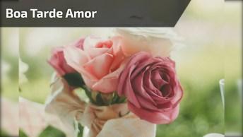 Vídeo Com Mensagem De Boa Tarde Amor, Só Passando Para Dizer Que Te Amo!