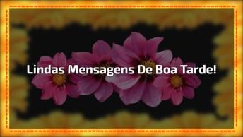 Vídeo De Boa Tarde Com Imagens E Mensagens Para Amigos E Amigas!
