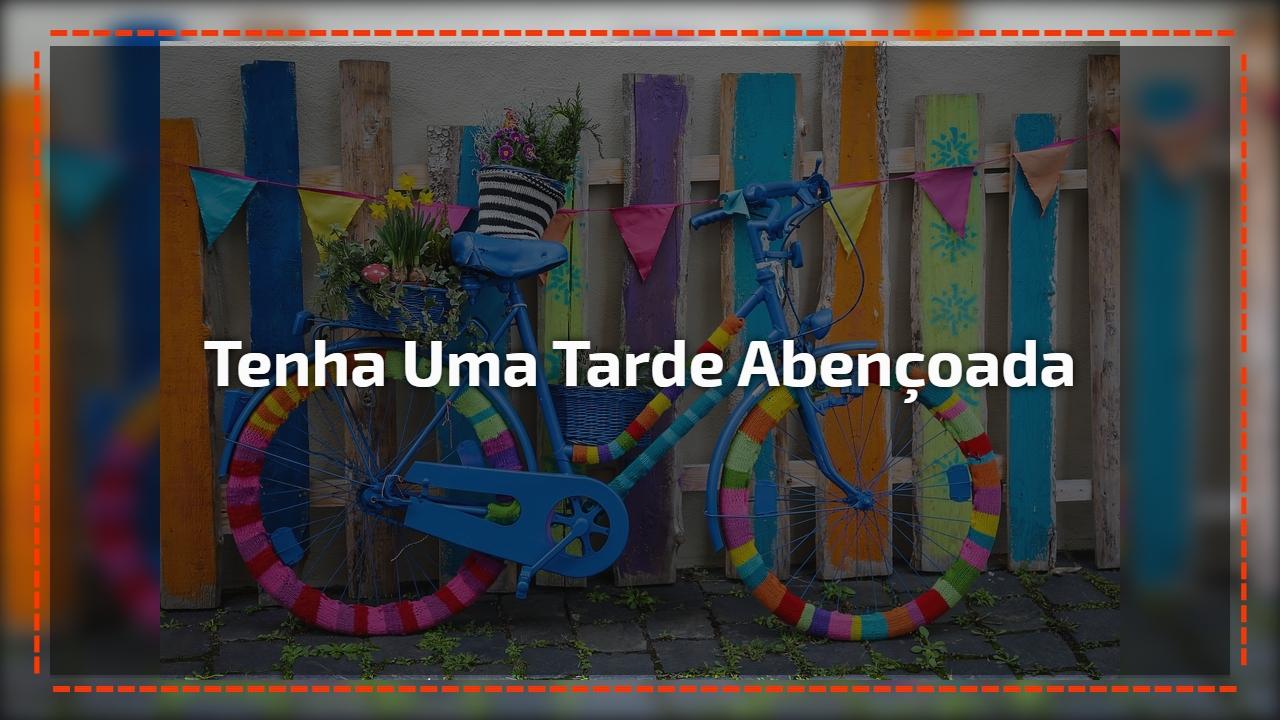 Vídeo de mensagem de Boa Tarde para amigo ou amiga! Que sua tarde seja doce!!!