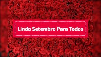 Bom Dia Para Começo Para O Primeiro Dia De Setembro, Para Facebook!