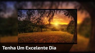 Bom Dia, Que Seu Dia Seja Melhor Que Ontem, E Melhor Que Amanhã!