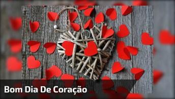 Bonjour! Tenham Todos Um Bom Dia Com Muita Alegria E Amor No Coração!