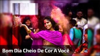 Mensagem De Bom Dia Colorida, Um Sorriso Significa Muito!