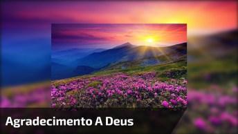 Mensagem De Bom Dia Com Agradecimento A Deus, Compartilhe No Facebook!