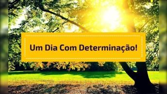 Mensagem De Bom Dia Com Determinação, Compartilhe No Facebook!