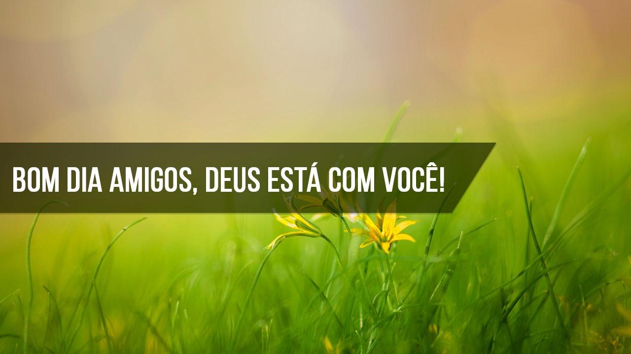 Mensagem de Bom Dia gospel para Facebook