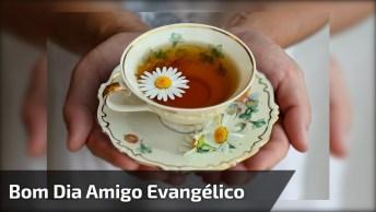 Mensagem De Bom Dia Para Amigo Ou Amiga Evangélico! Deus Abençoe Seu Dia!